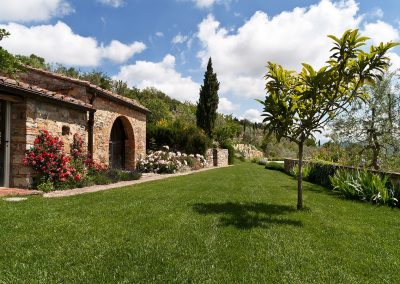 A GARDEN IN THE HEART OF CHIANTI